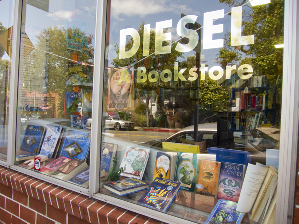 oakland diesel books, independent bookstores oakland