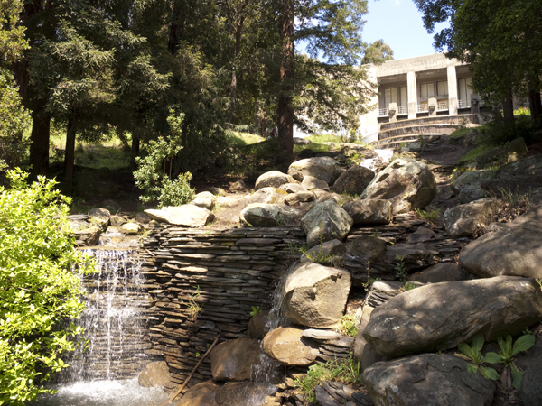 Woodminster Cascades, woodminster amphitheater and cascades, joaquin miller
