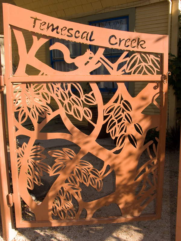 temescal creek community gate