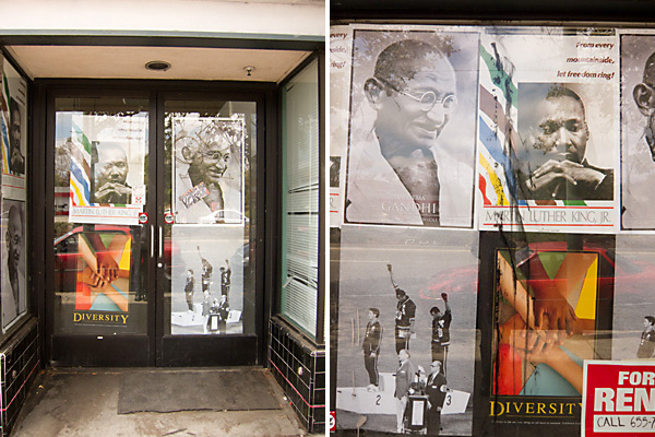 posters ground floor hotel california, civil rights posters san pablo