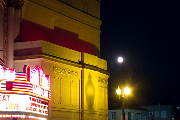 full moon, grand lake theater