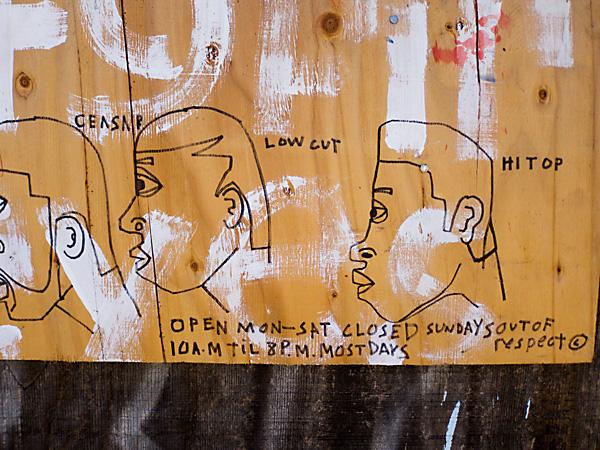 safety first graffiti art, safety first west oakland art