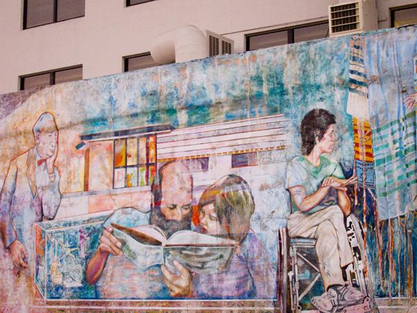 multicultural murals, downtown oakland murals, keith sklar