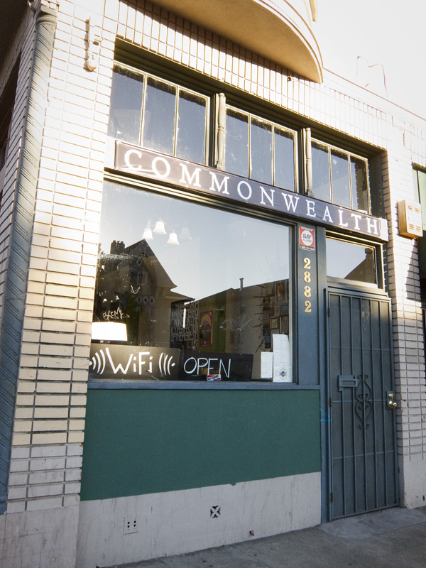 commonwealth cafe, commonwealth pub, commonwealth pub oakland