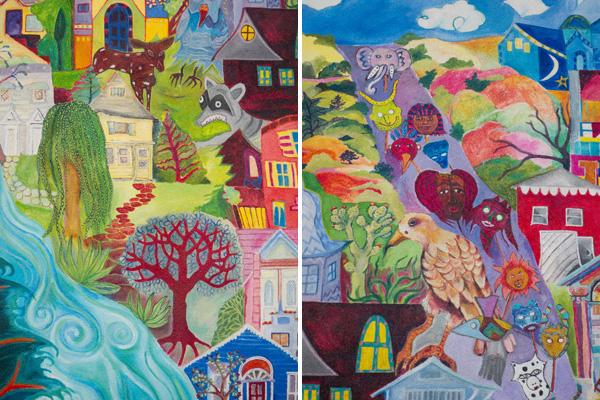 east oakland murals, dimond public murals
