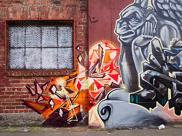 oakland murals, west oakland graffiti art