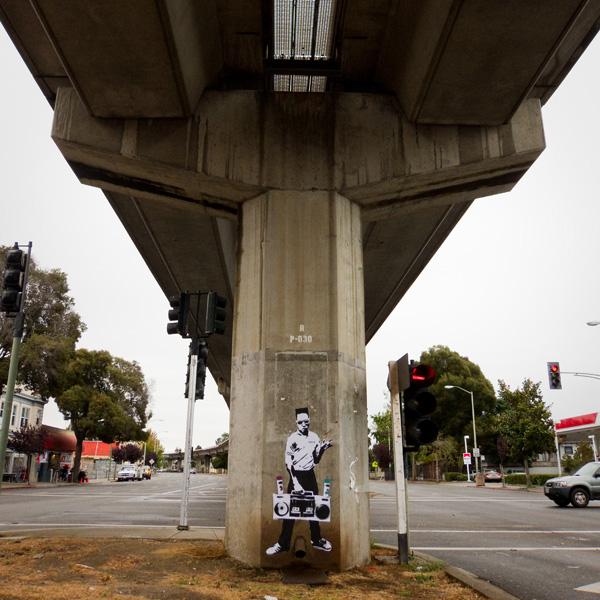 Get Up, Boom Box Stencil, Get Up Graffiti Artist