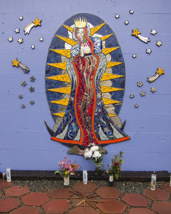 Peterson Street Mosaics, Jingletown Oakland, Jingletown Art Walk