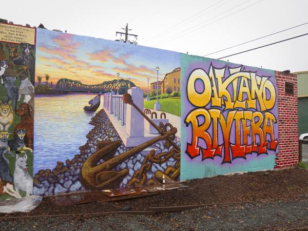 jingletown murals, oakland murals, alameda waterfront mural