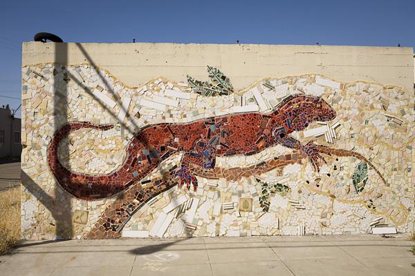 mosaic institute oakland, jingletown mosaic murals