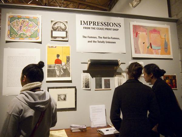 CCA Impressions, impressions from CCA print shop