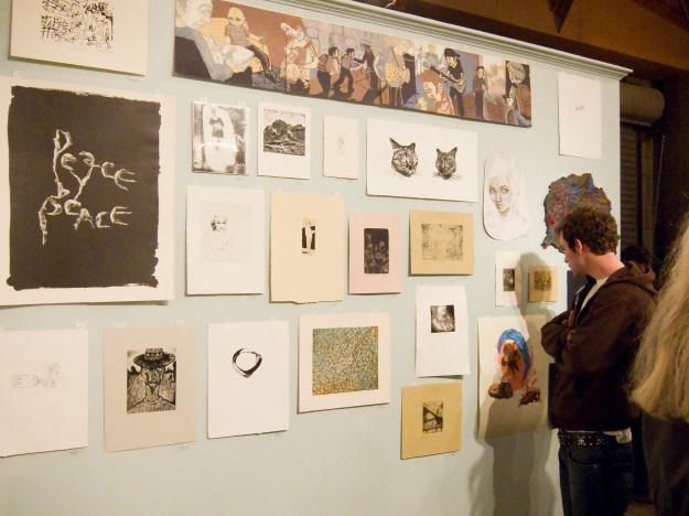 Studio Quercus, CCA Impressions, impressions from CCA print shop