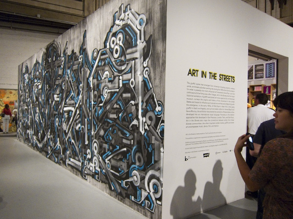 MOCA Geffen Contemporary, street art exhibit los angeles