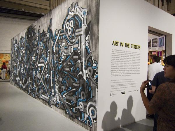 MOCA Geffen Contemporary, street art exhibit los angeles