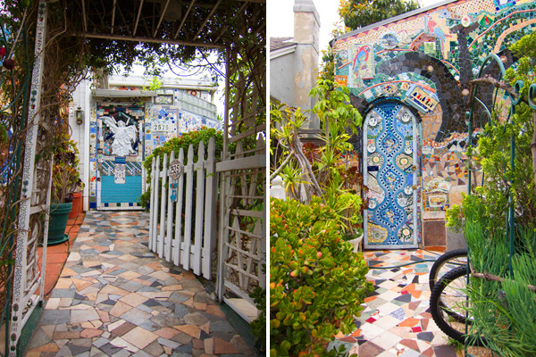Santa Monica Mosaic House