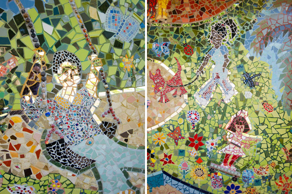 friends of maxwell park, maxwell park improvements, oakland public mosaics