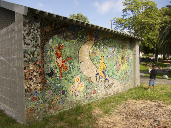 maxwell park mosaic project