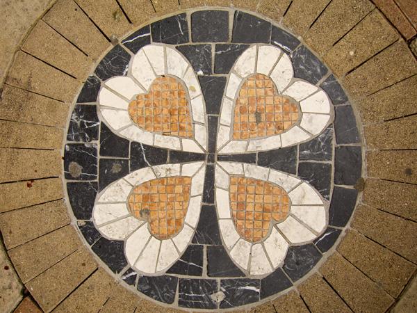 Fruitvale Pedestrian Plaza Art, fruitvale plaza mosaics