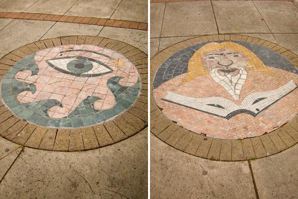 oakland public mosaic art