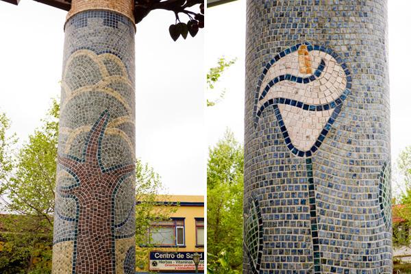 fruitvale arches, fruitvale plaza mosaics