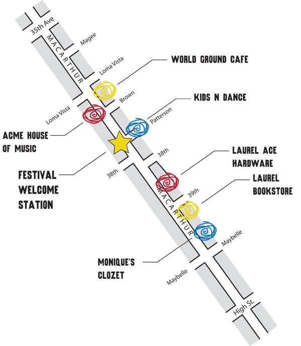 laurel summer solstice music festival, laurel music festival, oakland music festival
