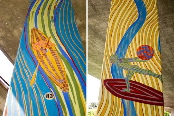 temescal flows, temescal flows mural project, alan leon