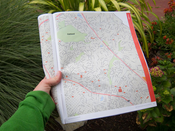 oakland map, east bay open studios