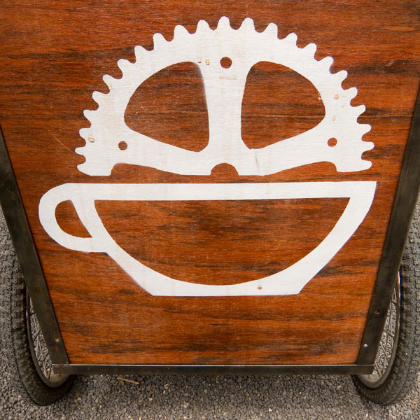 pedal power, coffee cart, oakland coffee carts