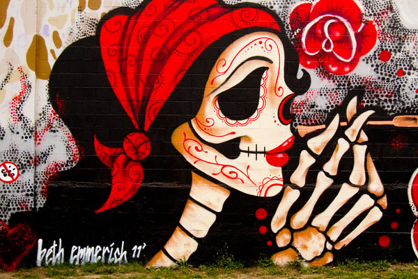 Beth Emmerich artist, Beth Emmerich mural