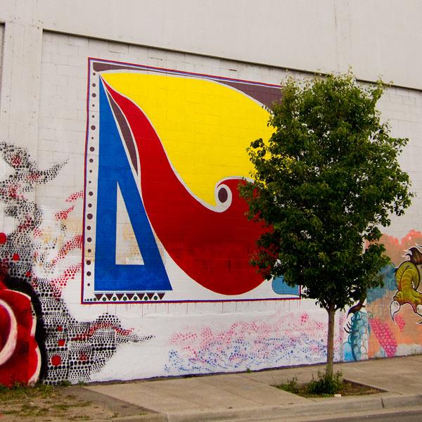 mandela parkway murals, few and far murals, oakland murals