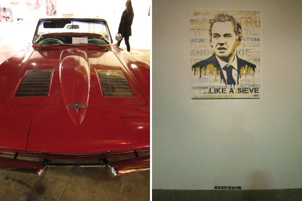 eddie colla, like a sieve, vintage car, little red corvette