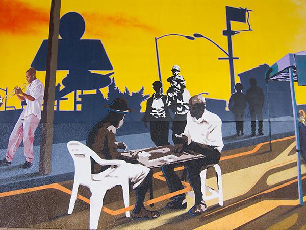 AHC mural, Art Esteem