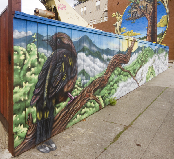 Ernest Doty, Dimond Murals, Bird Murals, Ernest Doty Mural, MacArthur Murals, Dimond Murals