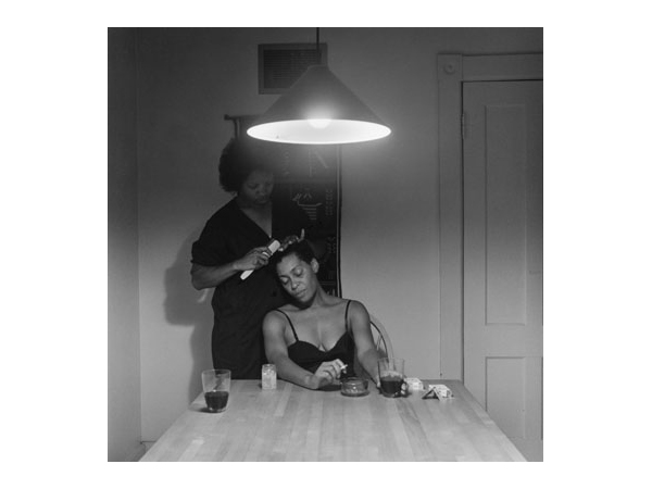 Carrie Mae Weems, kitchen table series, carrie mae weems self portrait