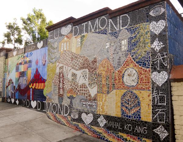 debbie koppman, mosaic mural, mac arthur mural