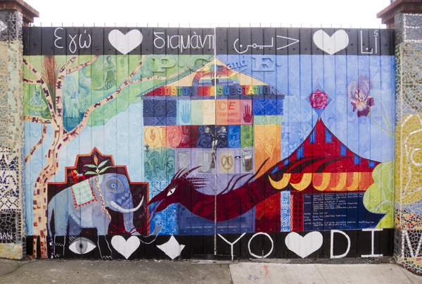 dimond district mural, mac arthur mural, mandy lockwood