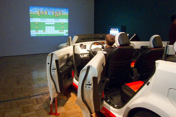 video game car