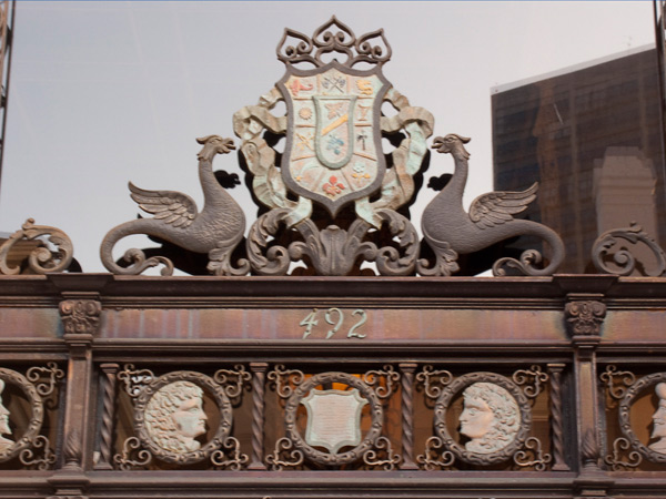 Crest with Dragons