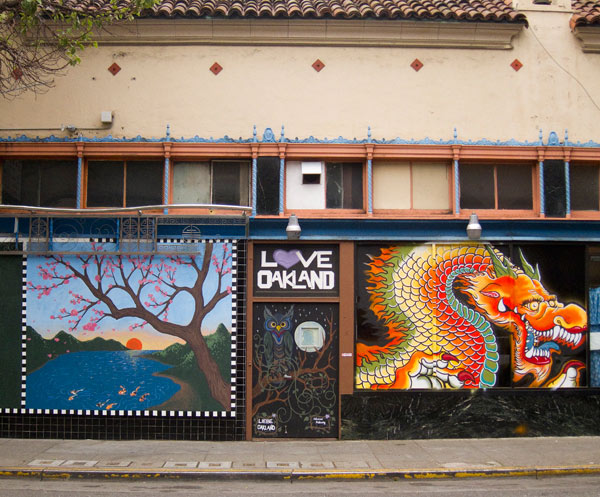 Love Oakland Mural