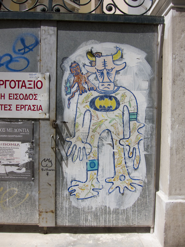 greek graffiti, wheatpaste, greek wheatpaste, athens graffiti