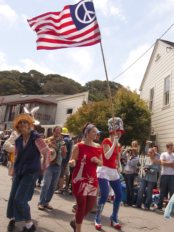 Bolinas Fourth of July, Bolinas 4th of July, Bolinas Independence Day parade