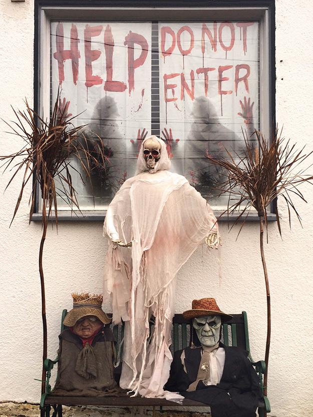 halloween, oakland halloween, haunted house